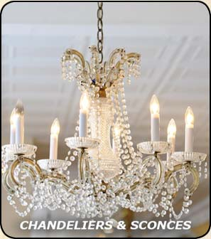 Chandeliers and Sconces